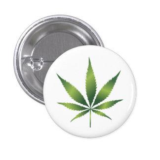 Cannabis 1 Inch Round Button