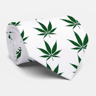 Cannabis Pot Leaf Tie