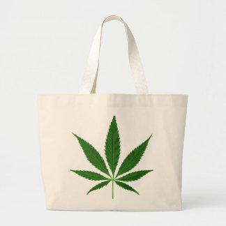 CANNABIS REX (marijuana leaf design) ~ Jumbo Tote Bag