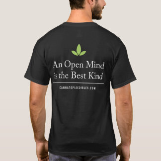 Cannatopia Open Mind Men's T-Shirt