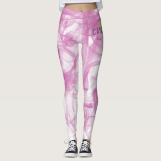 Cannatopia Pink Smoke Leggings
