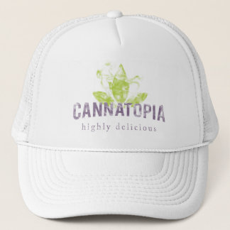 Cannatopia Smoke Logo Trucker Hat