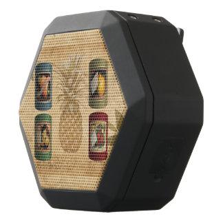 Canned fruit pineapple black bluetooth speaker