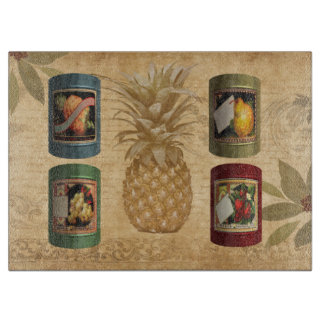 Canned fruit pineapple boards