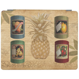 Canned fruit pineapple iPad cover
