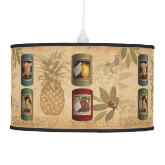 Canned fruit pineapple pendant lamp