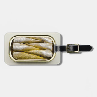 Canned Sardines Luggage Tag