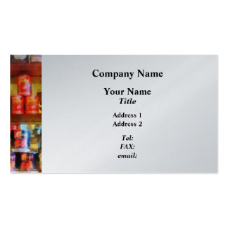 Canned Tomatoes Business Cards