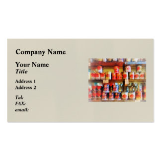 Canned Tomatoes Business Card
