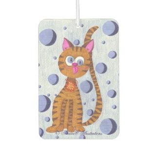 Cannelle the Cat custom air freshener