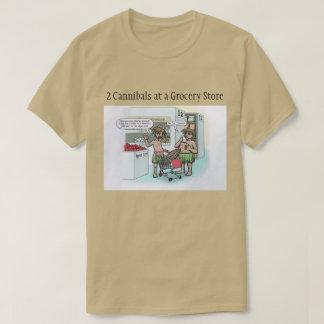 Cannibal Cartoon T-Shirt