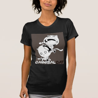 Cannibal Cat Brown T-shirts