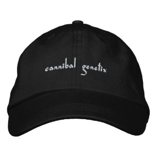 cannibal genetix embroidered hat