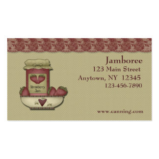 Canning Business Card