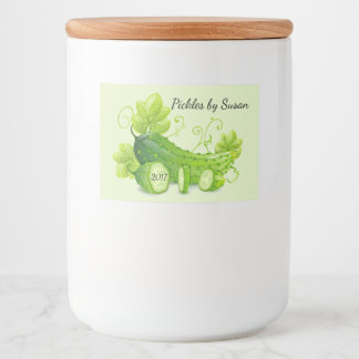 Canning Pickle Label