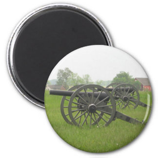 Cannon 2 Inch Round Magnet