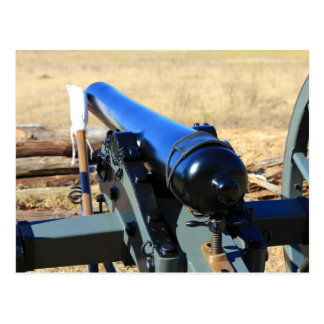 Cannon And A Ramrod Postcard