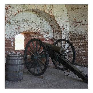 Cannon at Fort Pulaski Acrylic Print