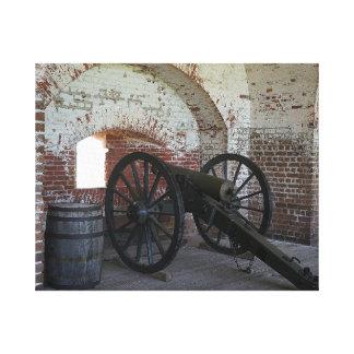 Cannon at Fort Pulaski Canvas Print