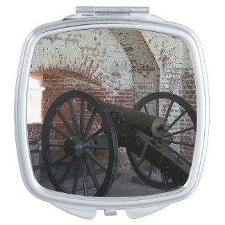 Cannon at Fort Pulaski Compact Mirror
