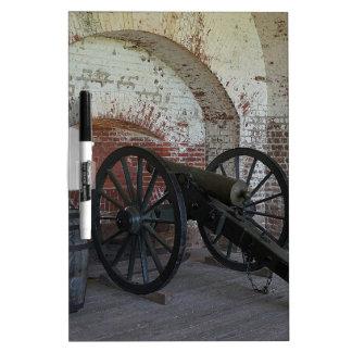 Cannon at Fort Pulaski Dry Erase Boards