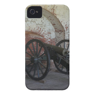 Cannon at Fort Pulaski iPhone 4 Case-Mate Cases