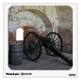Cannon at Fort Pulaski Wall Sticker