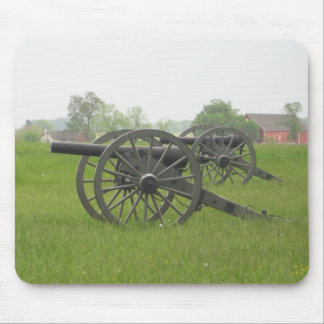 Cannon at Gettysburg Mouse Pad