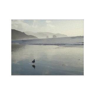 Cannon Beach Gull Canvas Print