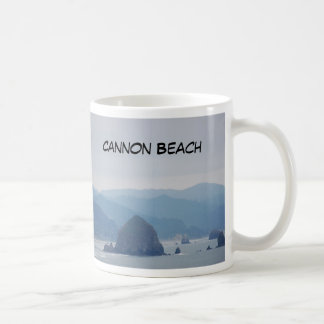 Cannon Beach Haystack in the mist Mug