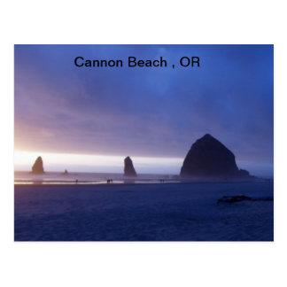 Cannon Beach, OR Postcard