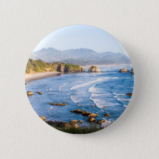 Cannon Beach Oregon 2 Inch Round Button