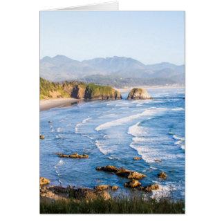 Cannon Beach Oregon Card