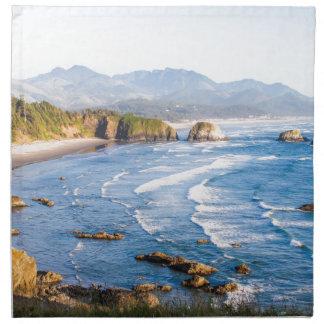 Cannon Beach Oregon Napkin