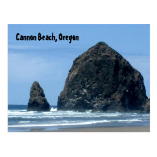 Cannon Beach, Oregon Postcard