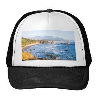 Cannon Beach Oregon Trucker Hat