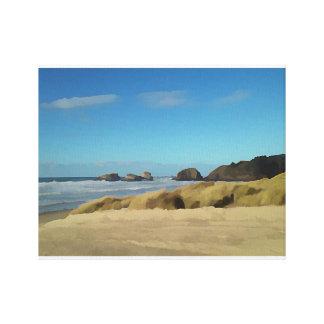 Cannon Beach Shore Canvas Print
