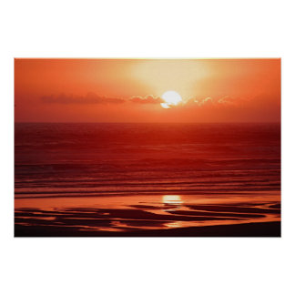 Cannon Beach Sunset Poster