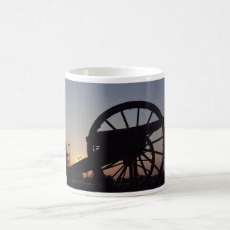 cannon classic white coffee mug
