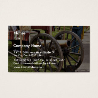 Cannon In Old Town San Diego Business Card