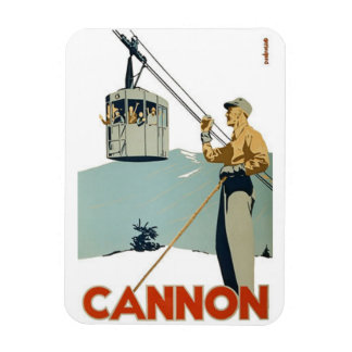 Cannon Mountain Magnet