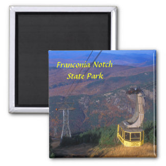 Cannon Mountain Tram Franconia Notch State Park Magnet