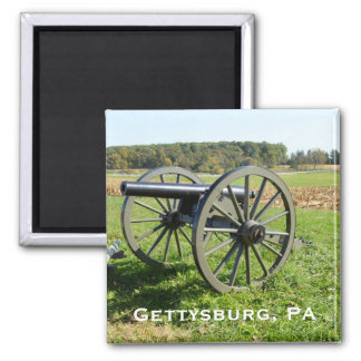 Cannon on the Gettysburg Battlefield Magnet