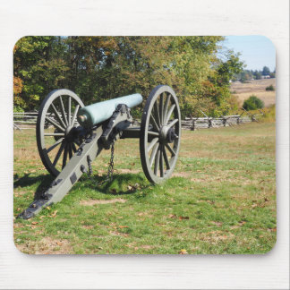 Cannon on the Gettysburg Battlefield Mouse Pad