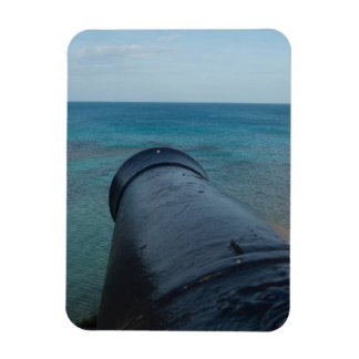 Cannon Overlooking Water Photo Magnet