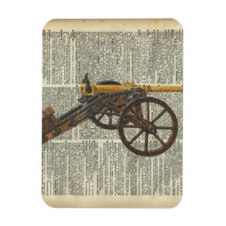Cannon Rectangular Photo Magnet