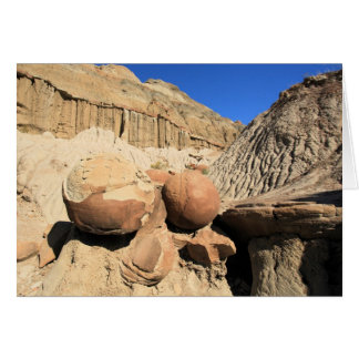 Cannonball COncretions At Theodore Roosevelt NP Card