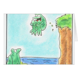 Cannonball Frog Card
