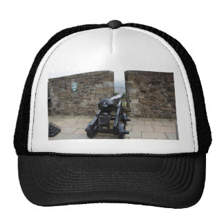 Cannons and cannon balls inside the Sterling Cast Mesh Hats