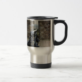 Cannons and cannon balls coffee mugs